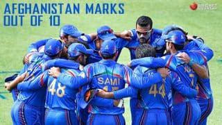 Afghanistan in ICC Cricket World Cup 2015: Marks out of 10
