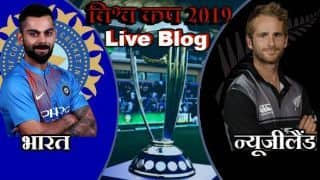 Cricket World Cup 2019 live cricket score and updates IND vs NZ, Match 18 live streaming, ,Match abandoned without toss, live score updates live blog and ball by ball commentary