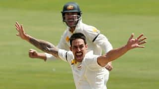 Mitchell Johnson stars as Australia gain control of 1st Test against South Africa