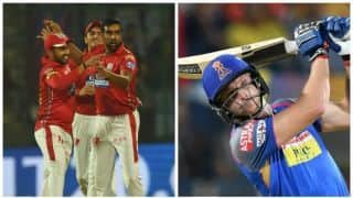 Highlights, IPL 2018, KXIP vs RR, Full Cricket Score and Updates, Match 38 at Indore: KXIP win by 6 wickets