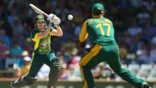 Australia vs South Africa 2nd ODI at Perth: George Bailey departs after steady partnership
