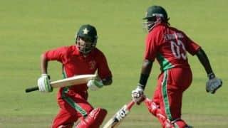 पाकिस्तान के खिलाफ स्लो ओवर रेट के कारण जिम्बाब्वे टीम पर लगा जुर्माना