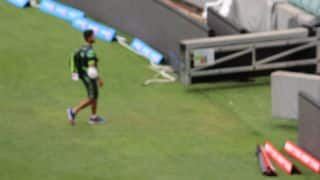 Ahmed Shehzad hurts elbow, but expected to be fit for World Cup clash against India