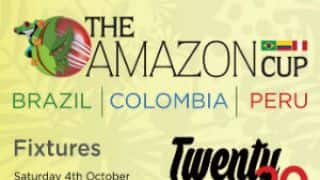 Amazon Cup: Brazil and Peru to play Colombia in tri-nation tournament