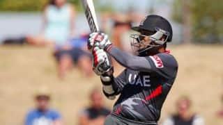 Khurram Khan becomes first UAE batsman to cross 500 ODI runs: ICC Cricket World Cup 2015