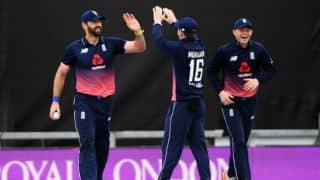 England vs West Indies, 5th ODI: Shai Hope, Sunil Ambris propel Windies to 288 for 6