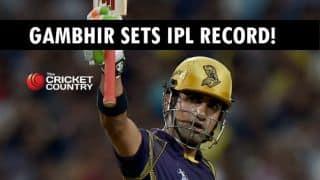 IPL 2015: Gautam Gambhir first to 25 IPL fifties