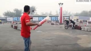 VIDEO: Virat Kohli tries a hand at trick cricket