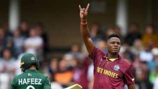 Cricket World Cup 2019: Great start for me as a youngster, says Oshane Thomas as West Indies crush Pakistan