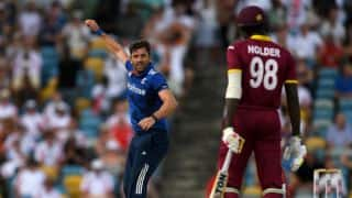 Holder rues squandering during West Indies' defeat in 1st ODI against England
