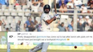 Sehwag's fire tweet, Pietersen's 'toothpick' remark and other reactions to Virat Kohli's master class