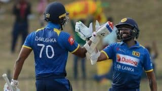Danushka Gunathilaka out of Sri Lanka squad for South Africa ODIs