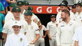 Australia vs New Zealand, 1st Test at Brisbane