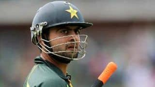 Ahmed Shehzad dismissed for 59
