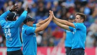 India vs England 2014, 3rd ODI at Trent Bridge: Shikhar Dhawan dismissed by Chris Woakes