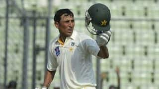 Younis climbs to No. 2 spot in Tests after century vs WI