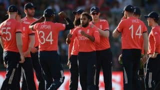 ENG announce T20 squad for one-off match against PAK