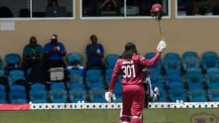 India vs West Indies: Chris Gayle hits 72 of 41 in his last international match