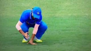 Ajinkya Rahane splits webbing on right hand, gets four stitches during India vs Australia 2015-16, 4th ODI at Canberra