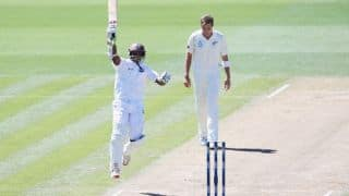 Shivnarine Chanderpaul's ton helps West Indies edge ahead at stumps on Day 2 of 3rd Test
