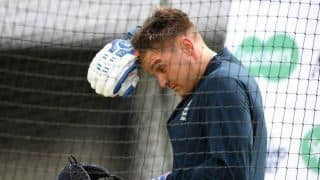 Leeds Test: Jason Roy clears concussion check after copping blow to neck, final call on Thursday