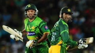 Shahid Afridi, Shoaib Malik confirm participation in ICC World XI side against West Indies