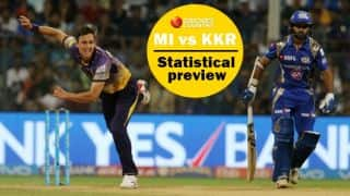 The curse of 2nd qualifier and other statistical preview of Mumbai Indians vs Kolkata Knight Riders clash in IPL 2017