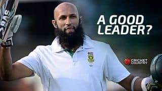 Hashim Amla may have been South Africa captain, but wasn't a leader