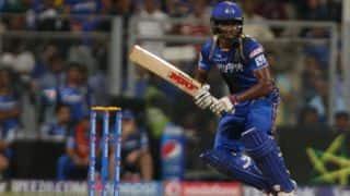 IPL 2015: Sanju Samson blames his dismissal for Rajasthan Royals' defeat to Mumbai Indians