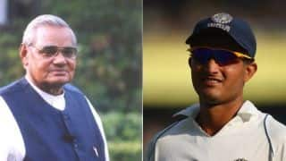 Atal Bihari Vajpayee's message for Sourav Ganguly and his team, 'win not only the game, but hearts also'