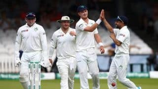 England vs Ireland Test: Jack Leach misses out on hundred as Ireland derail England's charge