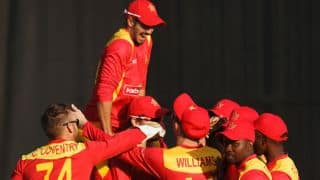 Graeme Cremer's 5 for 20 bowls out Afghanistan for paltry 131 in 1st ODI at Sharjah