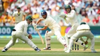 The Ashes, 2017-18, 2nd Test: England 128/5 at Tea