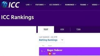 The ICC-Wimbledon repartee over Roger Federer
