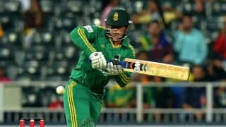 India vs South Africa 1st ODI at Johannesburg: Quinton de Kock gets ton