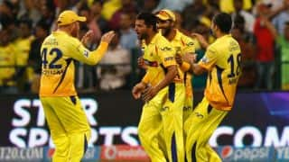 Ravindra Jadeja, Brendon McCullum star in Chennai Super Kings' 34-run victory over Kolkata Knight Riders in IPL 2014