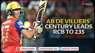 AB de Villiers, Virat Kohli smash Mumbai Indians as Royal Challengers Bangalore score 235/1 in IPL 2015