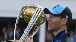 Eoin Morgan thanks fan who named his newborn after him