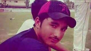 PAK cricketer Zubair dies after being hit by a bouncer