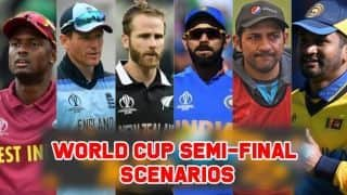 Cricket World Cup 2019 semi-final scenarios for each team after England's loss to Australia
