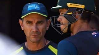 Justin Langer haven't slept during Australia-Sri Lanka 1st Test