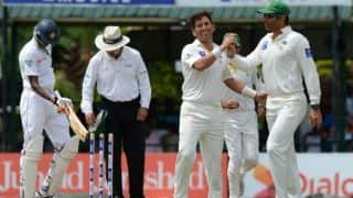 Pakistan on track despite losing Mohammad Hafeez against Sri Lanka in 2nd Test, Day 3