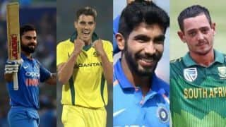 Kohli, Bumrah continue to top ICC ODI rankings, de Kock, Cummins, Guptill make big gains