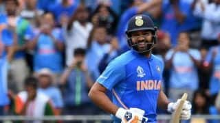 Rohit Sharma can break as many as three World Cup records during India's clash against Sri Lanka