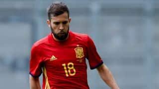 Jordi Alba: Spain have toughest group in Euro 2016