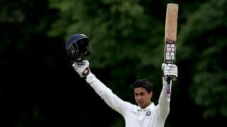 Kamlesh Nagarkoti's 10-for guides India U-19 to 334-run win over England U-19