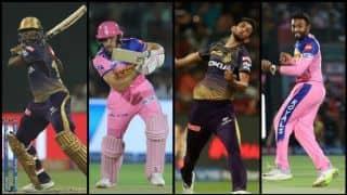 आंद्रे रसेल खेलेंगे धमाकेदार पारी या राजस्थान को जीत दिलाएंगे जोस बटलर
