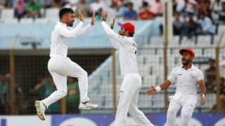 Five-star Rashid leads Afghanistan to historic Test triumph over Bangladesh