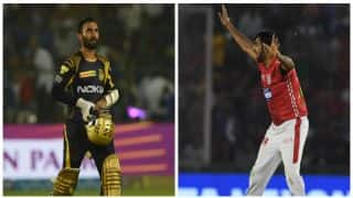 IPL 2018, KKR vs KXIP, Full Cricket Score and Updates, Match 18 at Eden Gardens