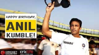Happy Birthday: Anil Kumble turns 47 today
